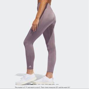 Adidas believe this primeknit tight lilac leggings
